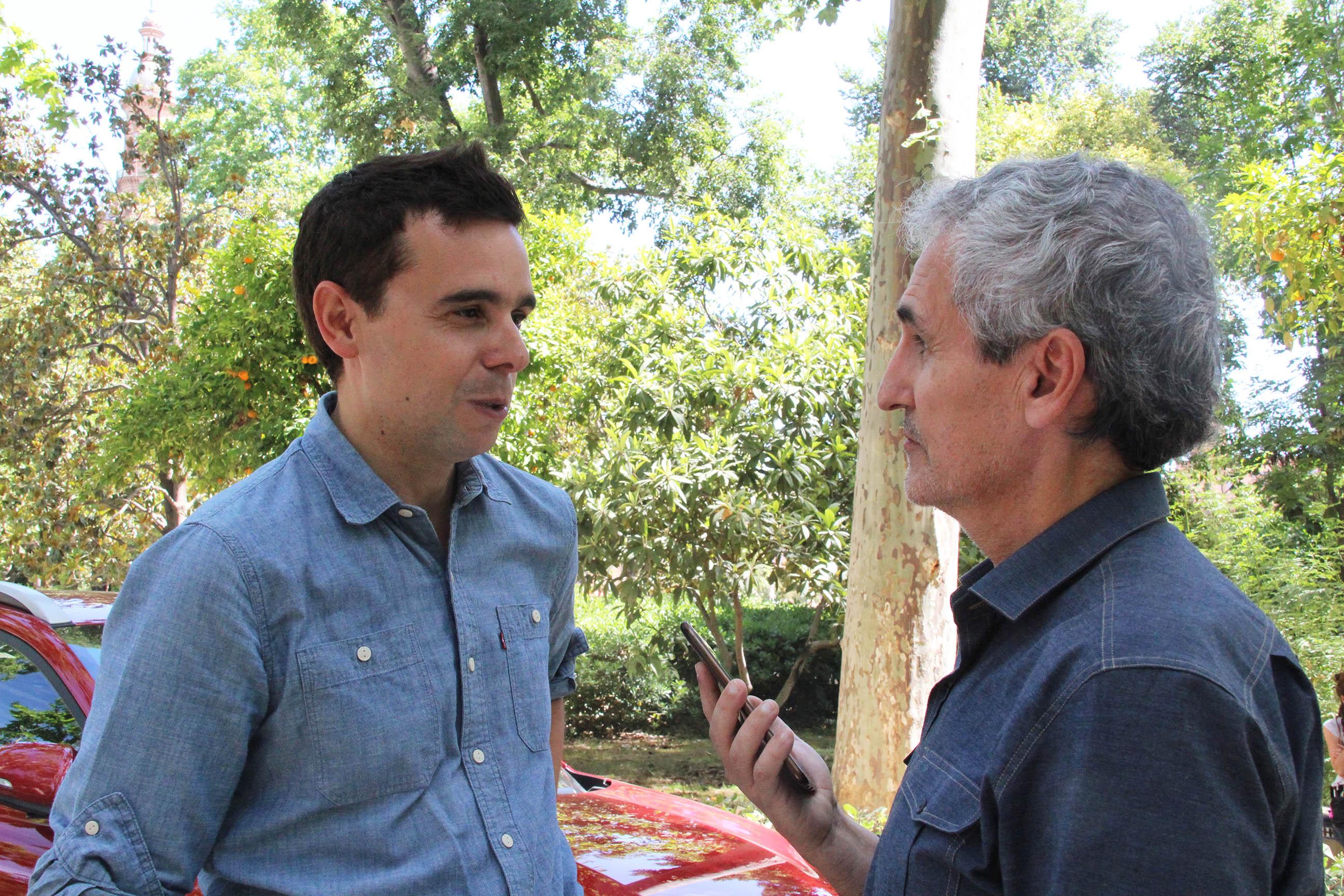 """Guillermo Rojas: """"'Una vez más' es una película de actores"""""""