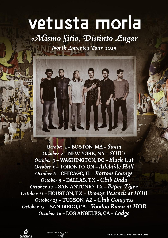 Vetusta Morla anuncia gira por norteamérica este otoño