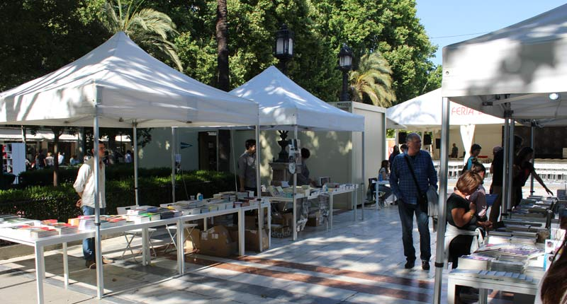 II Muestra de Editoriales Independientes en la Feria del Libro de Sevilla