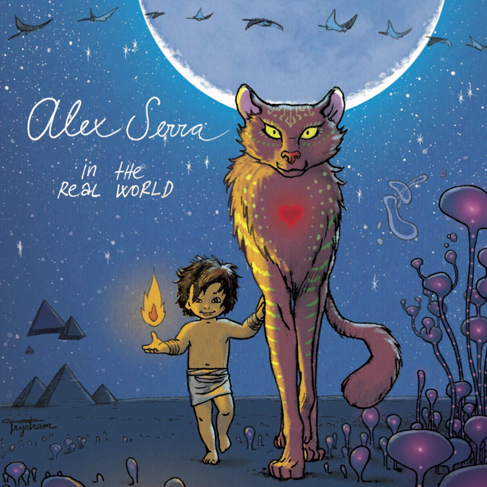 Alex Serra publica su álbum debut 'In the real world'