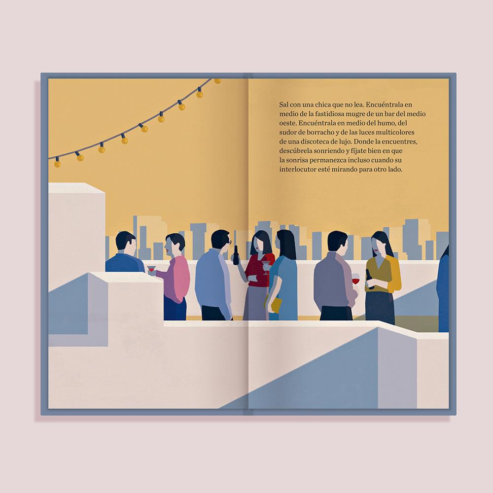 Sal con alguien que no lea (Charles Warnke y Laura Ferrero, 2019)