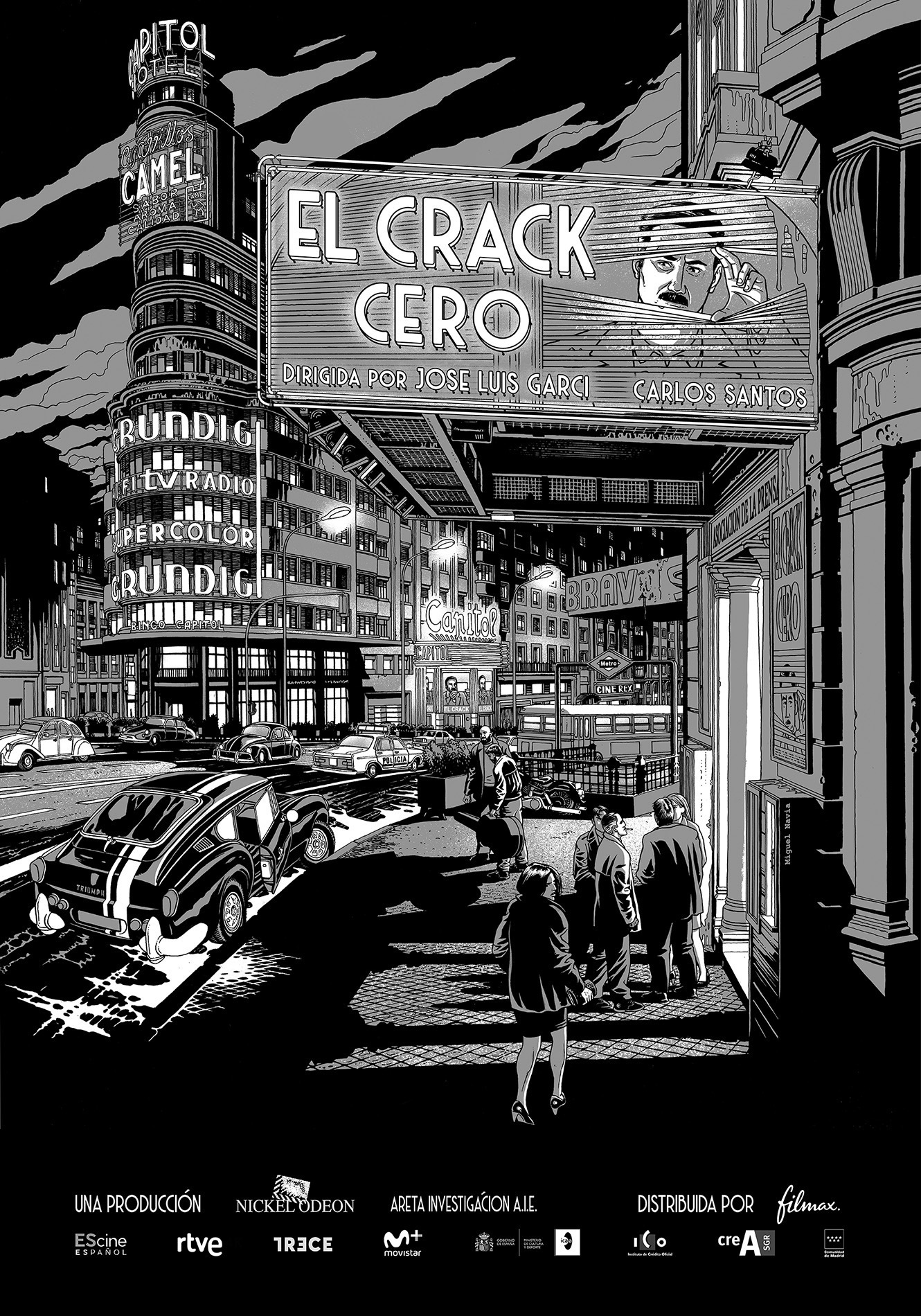 José Luis Garci estrena en octubre 'El crack cero'