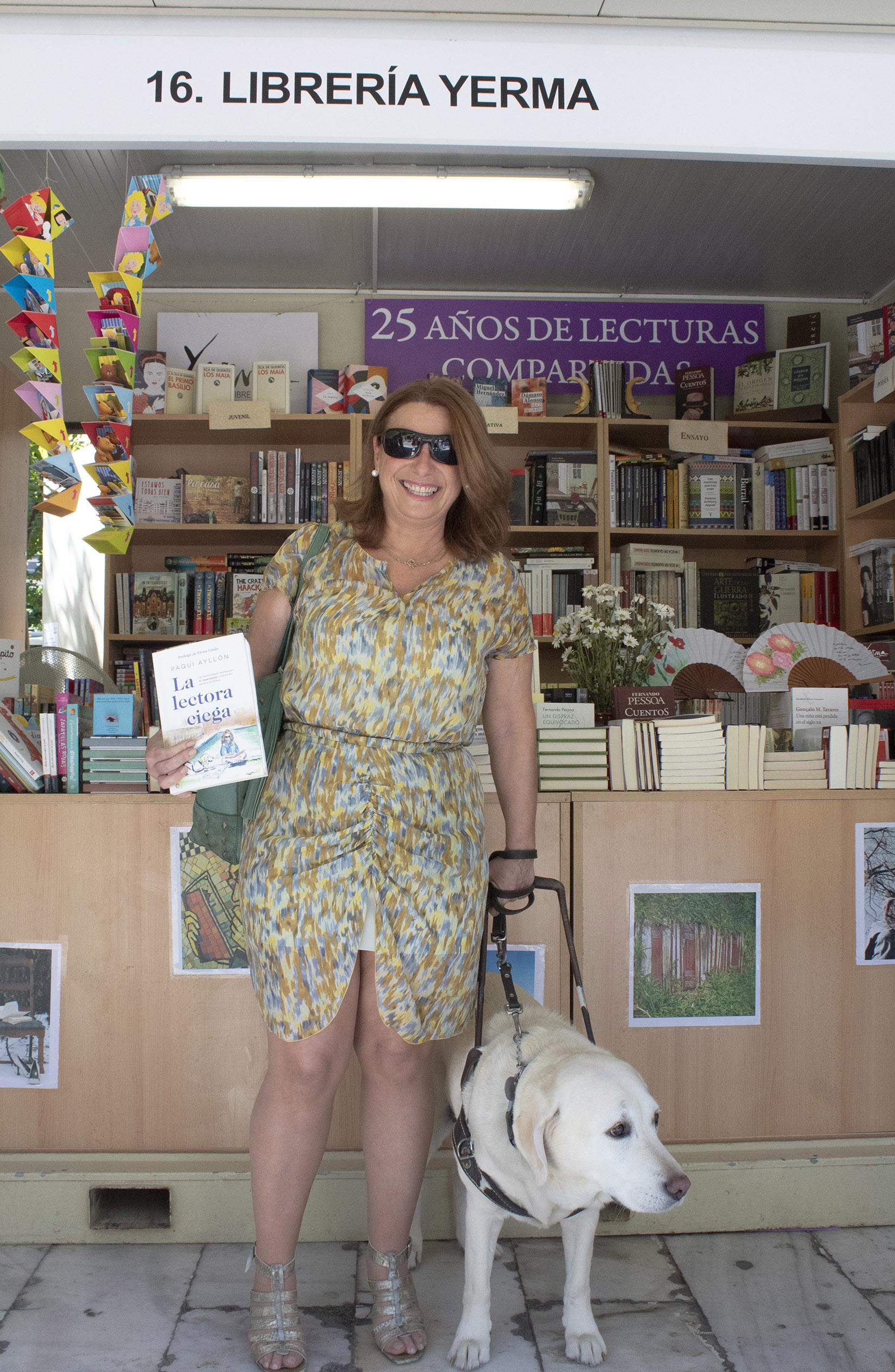 """Paqui Ayllón: """"La lectura es una gran pasión; me permite vivir"""""""