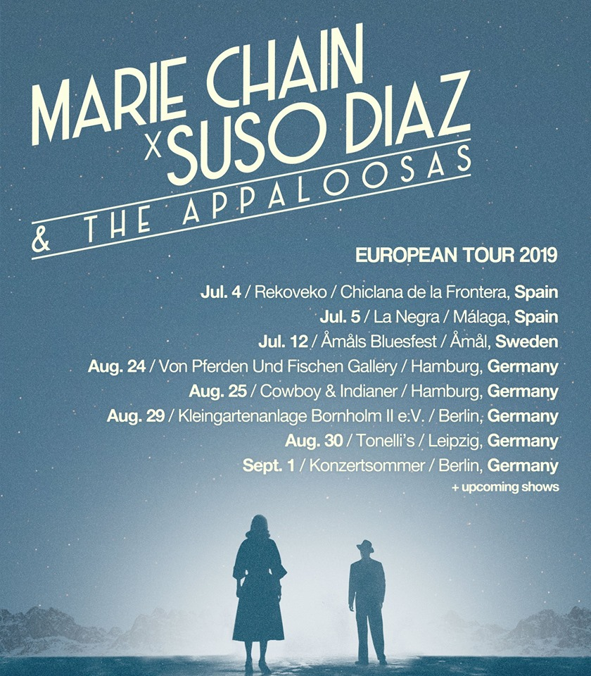 Suso Díaz & The Appaloosas comienza gira europea