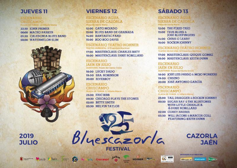 El BluesCazorla Festival comienza su cuenta atrás