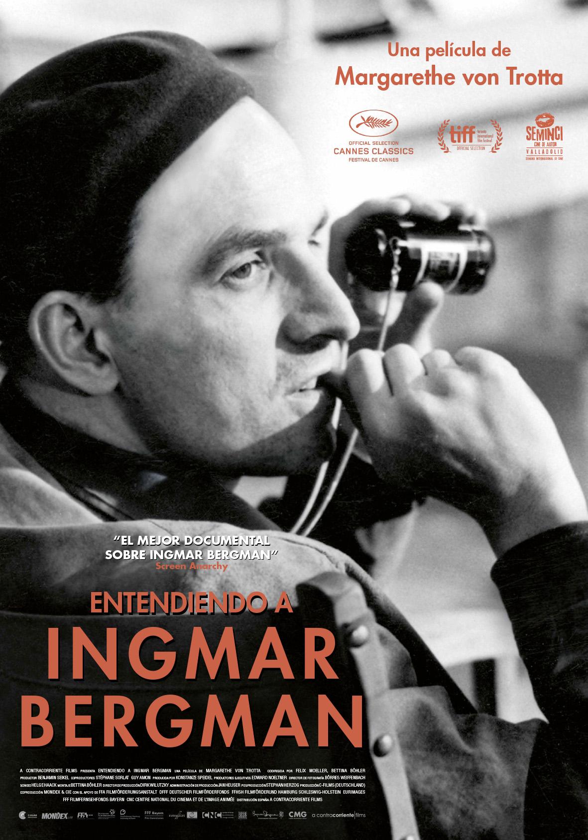 Entendiendo a Ingmar Bergman llega mañana a los cines