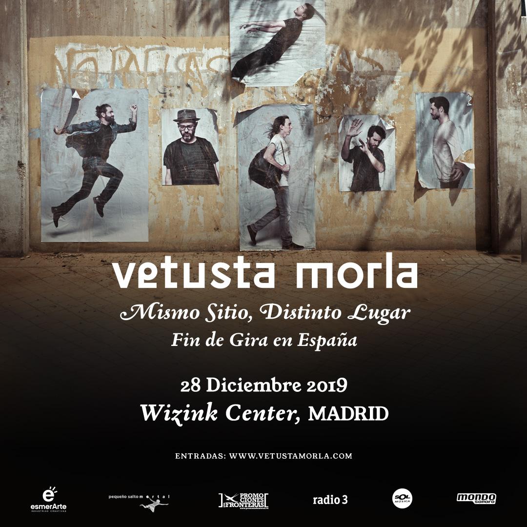Vetusta Morla despide en Madrid su gira Mismo Sitio, Distinto Lugar