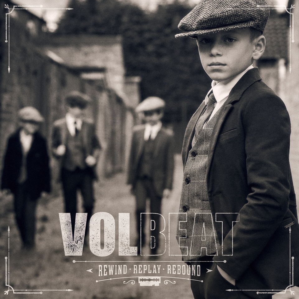 Volbeat publica su séptimo álbum y comienza su Rewind, Replay, Rebound World Tour