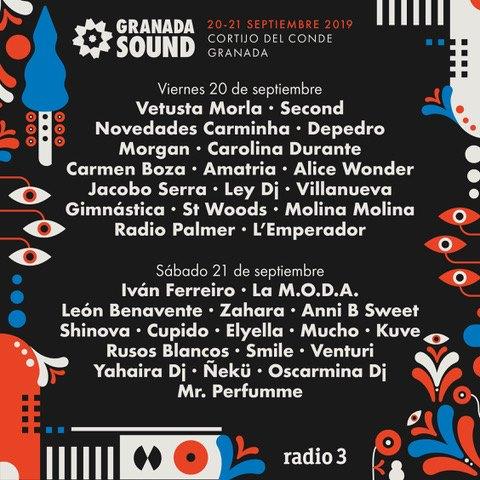 Granada Sound 2019 anuncia su cartel por días