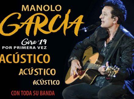 Manolo García reinicia la Gira 2019, Acústico, Acústico, Acústico, en octubre