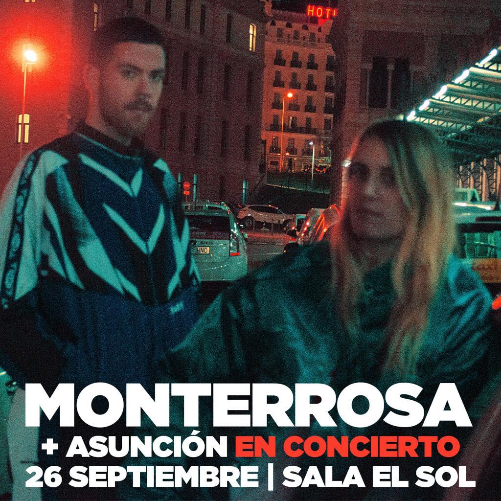 Monterrosa presenta su disco debut Madrid