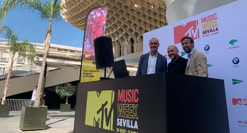 Dos grandes conciertos antesala de los MTV EMAs 2019 de Sevilla