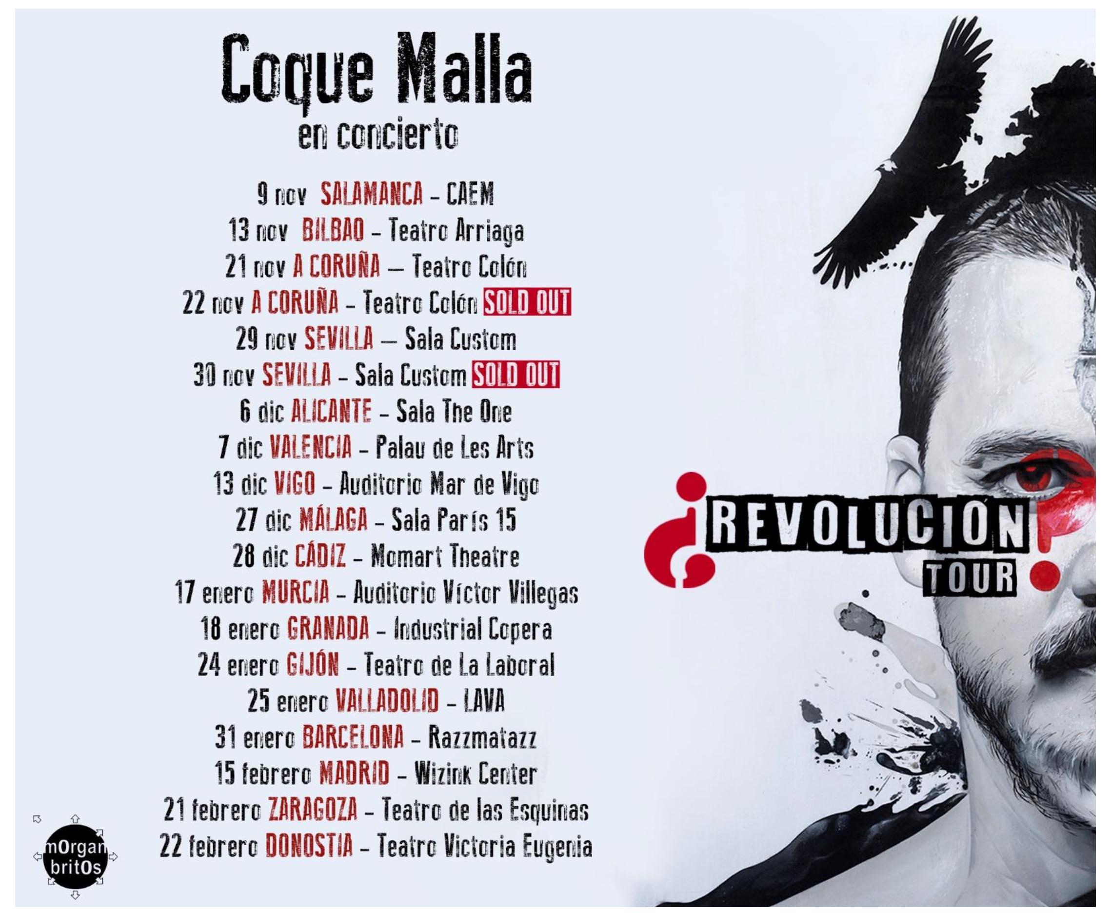 Coque Malla lleva a Sevilla su '¿Revolución?'