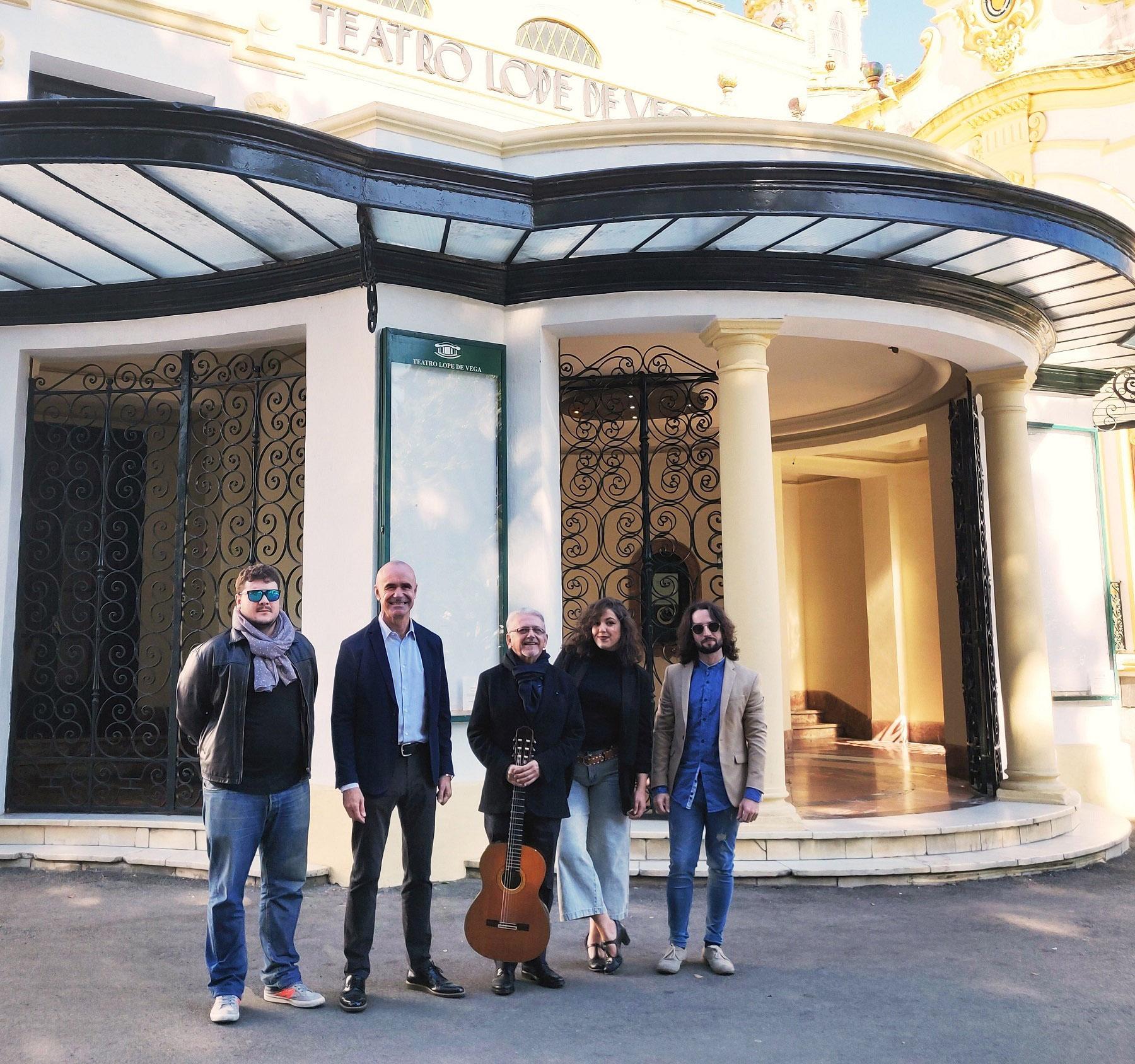 Manuel Imán celebra en Sevilla sus 'Aniversarios'