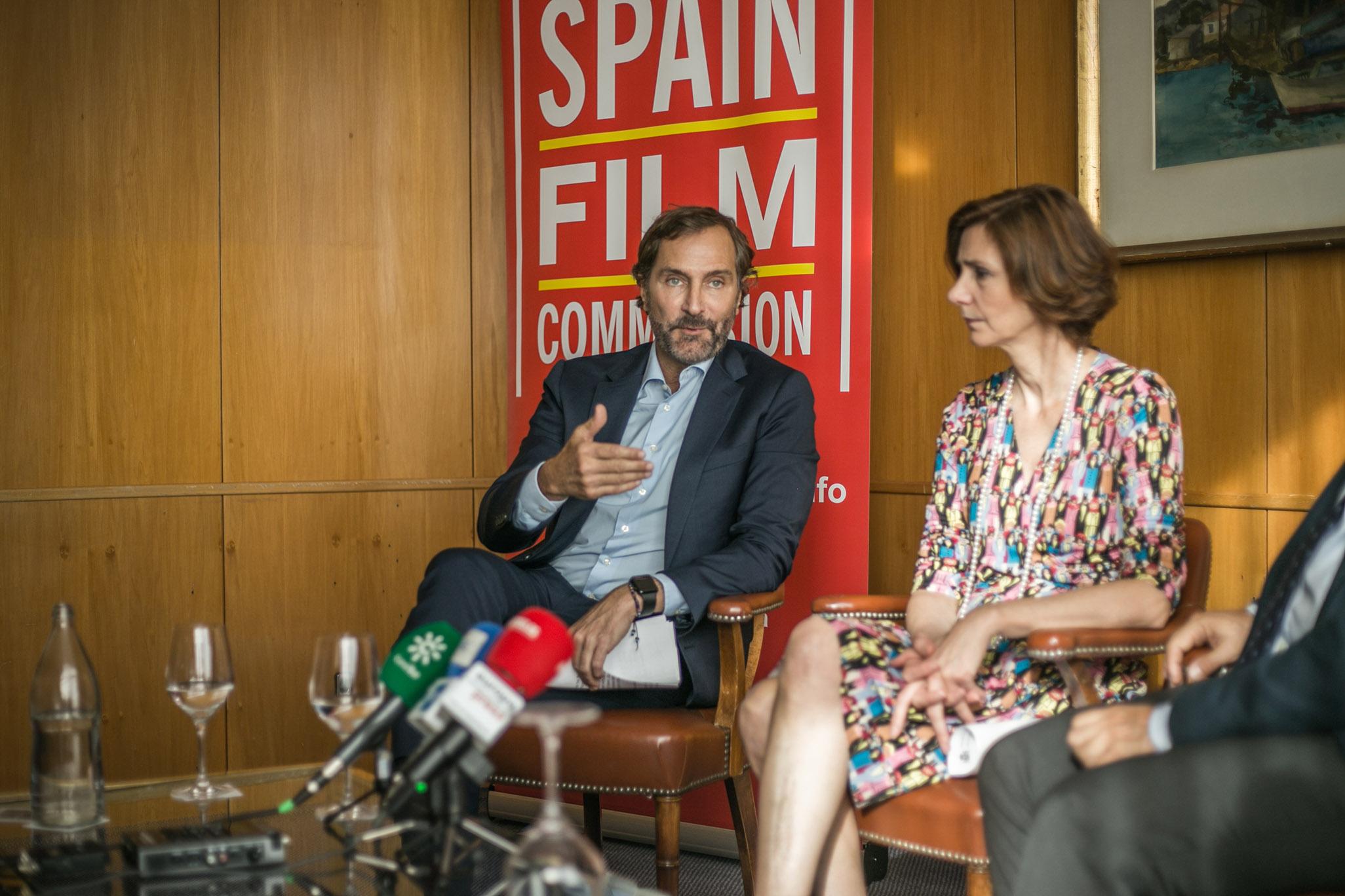 James Costos, embajador honorario de la Spain Film Commission