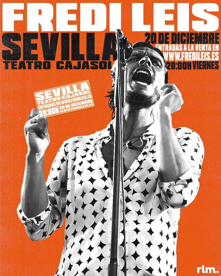 Fredi Leis despide 2019 en Sevilla