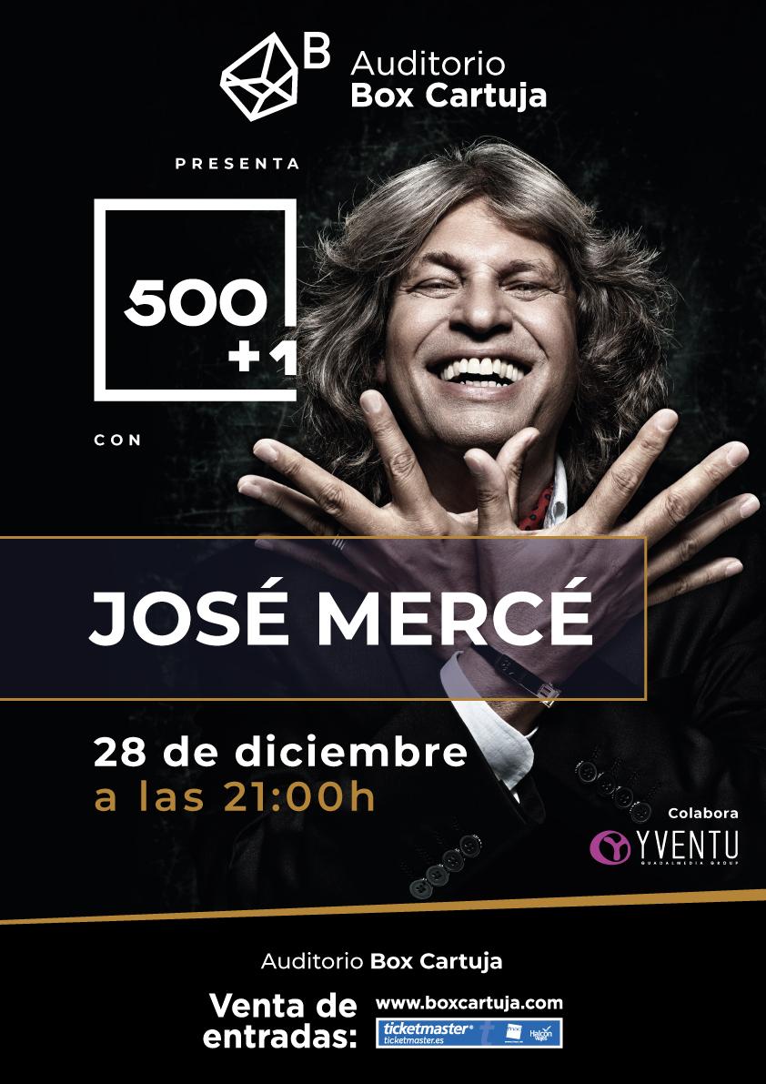 José Mercé intercala '500+1' en su gira 'De verdad'