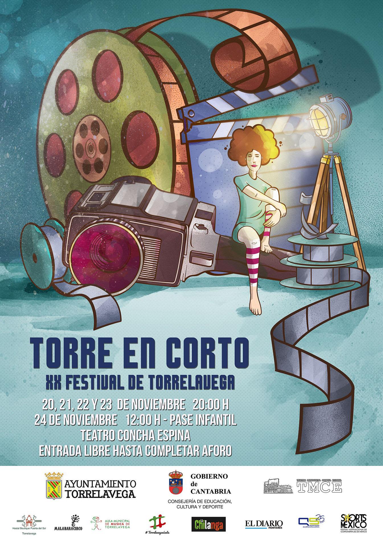 Torre en Corto, XX Festival de Torrelavega comienza hoy