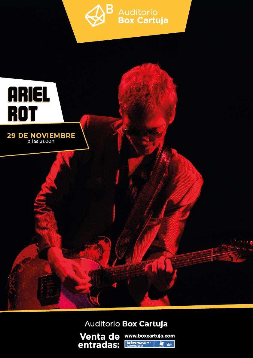 """Ariel Rot: """"El rock es mi lengua materna"""""""
