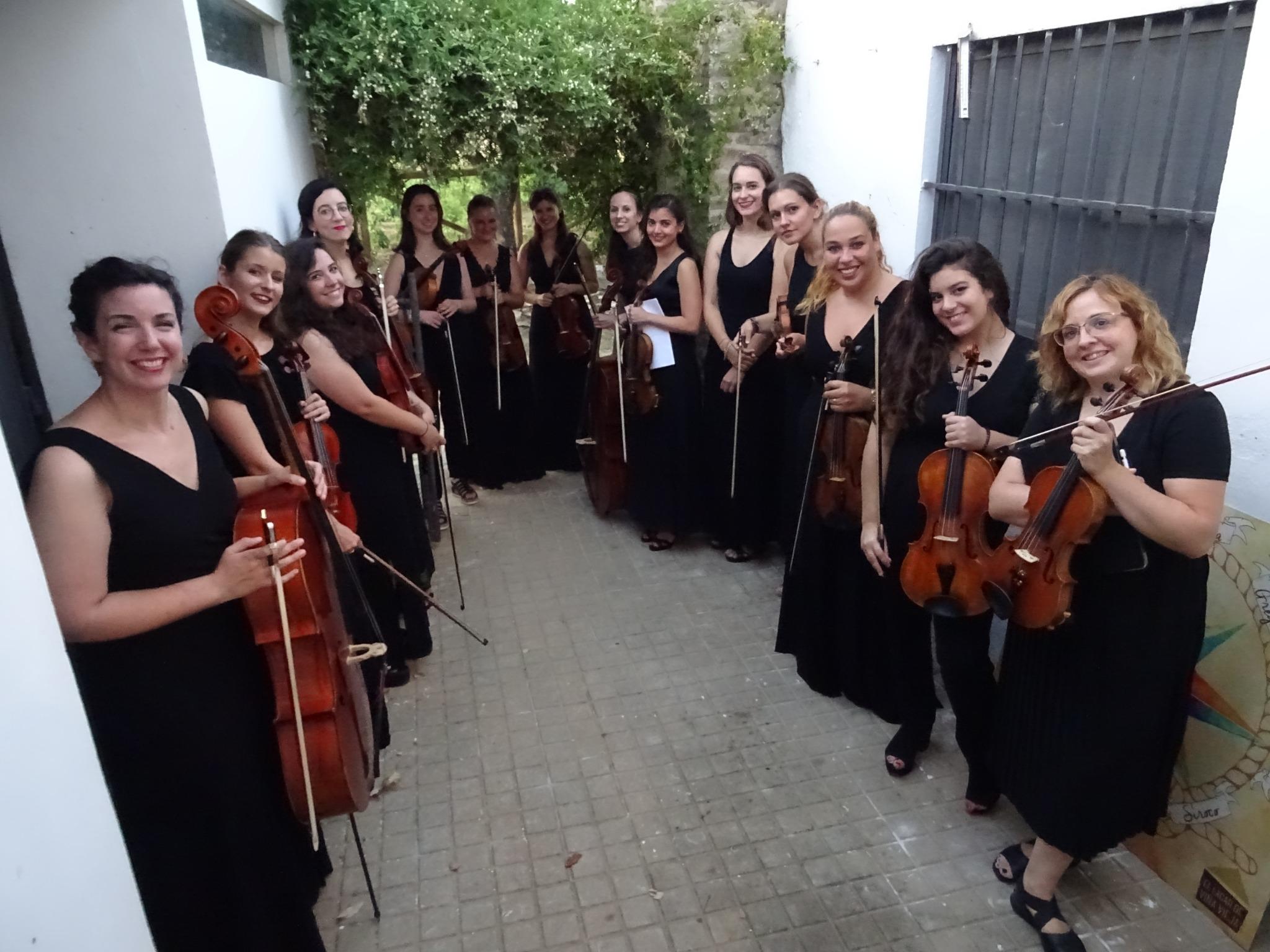 La Orquesta Almaclara-Inés Rosales cierra en Santiponce el Año Clara Schumann