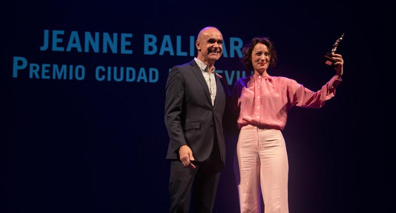 El Festival de Cine de Sevilla concluye premiando a Jeanne Balibar y la proyección de 'Adiós'