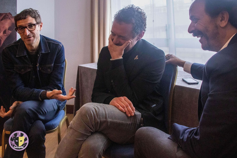 Julián Villagrán, Fede Aguado y Luis Callejo nos acercan a sus personajes en 'La Peste: la mano de La Garduña'