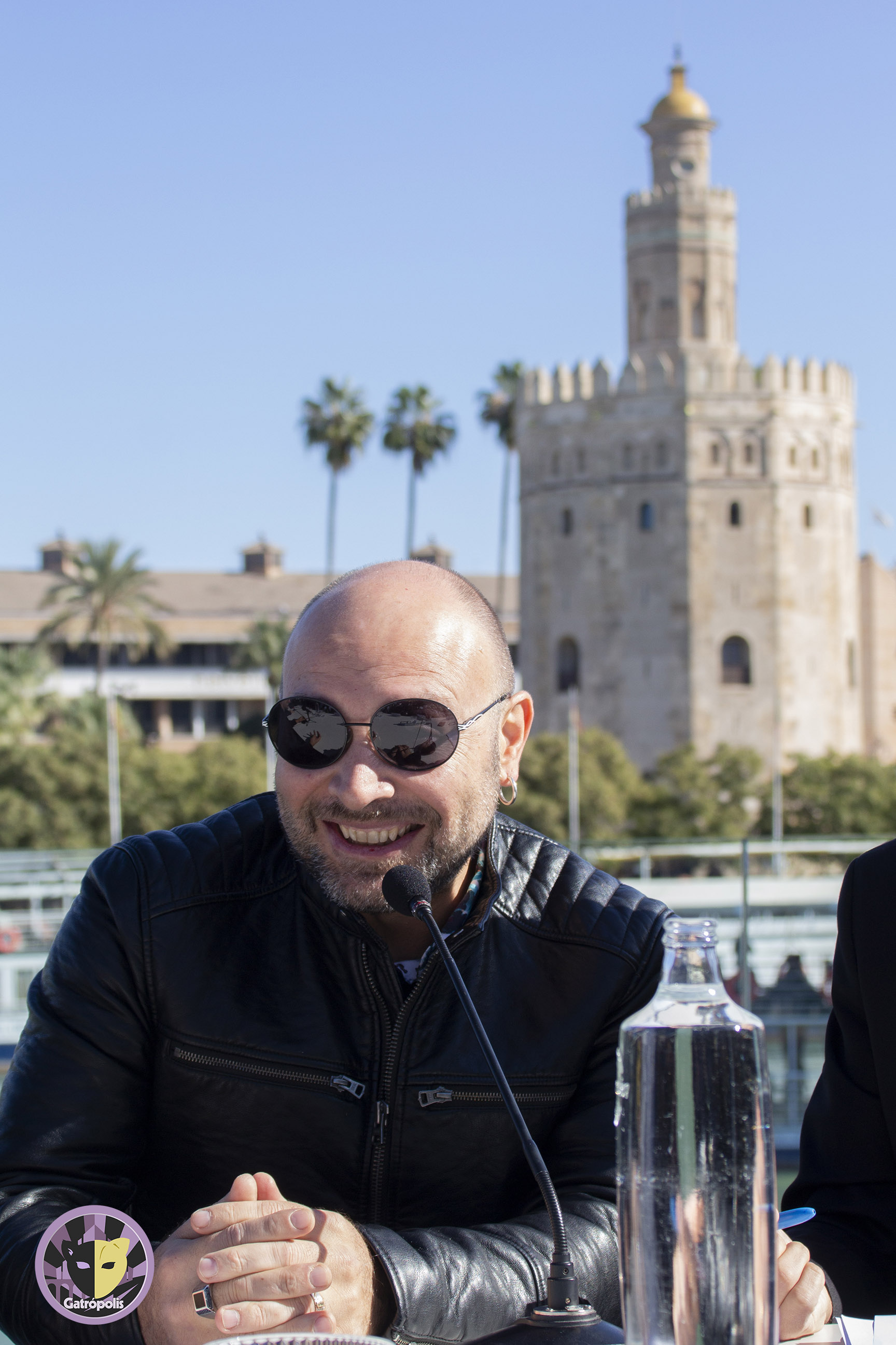"""Vicente Romero:  """"Me encanta que mi trabajo se vea en mi ciudad, en Sevilla"""""""