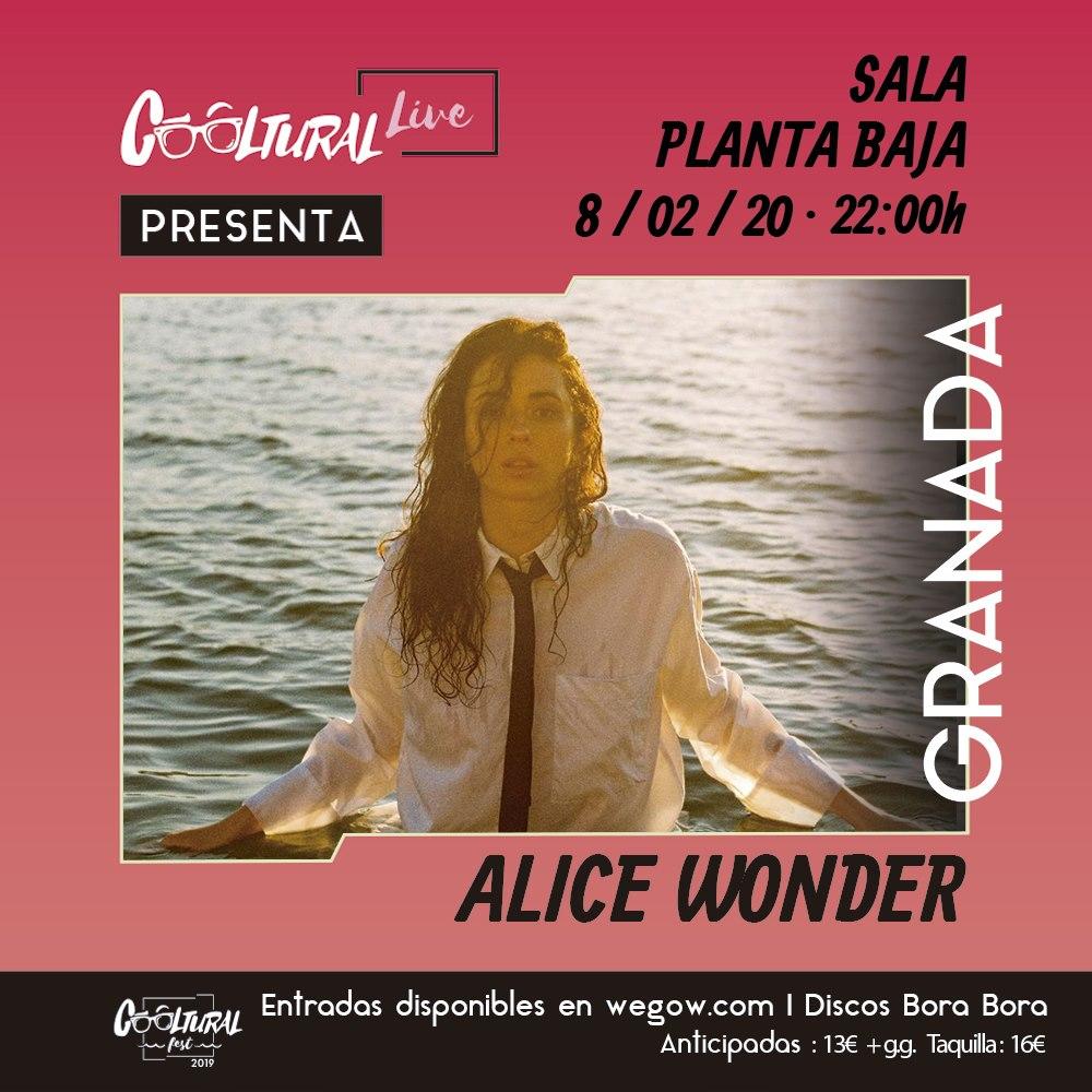 Alice Wonder aterriza en febrero en Granada