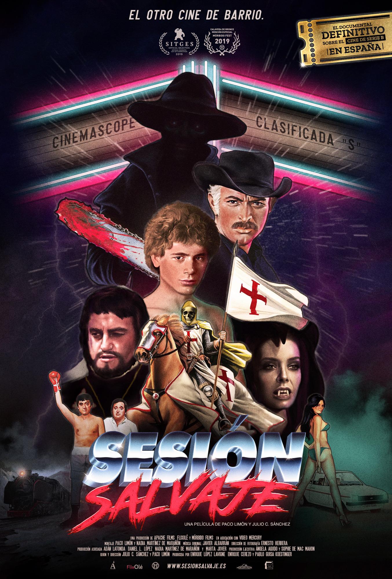 """Sesión Salvaje: """"El cine de hace cuarenta años era salvaje, sin domesticar. Sin Dios ni Amo"""""""