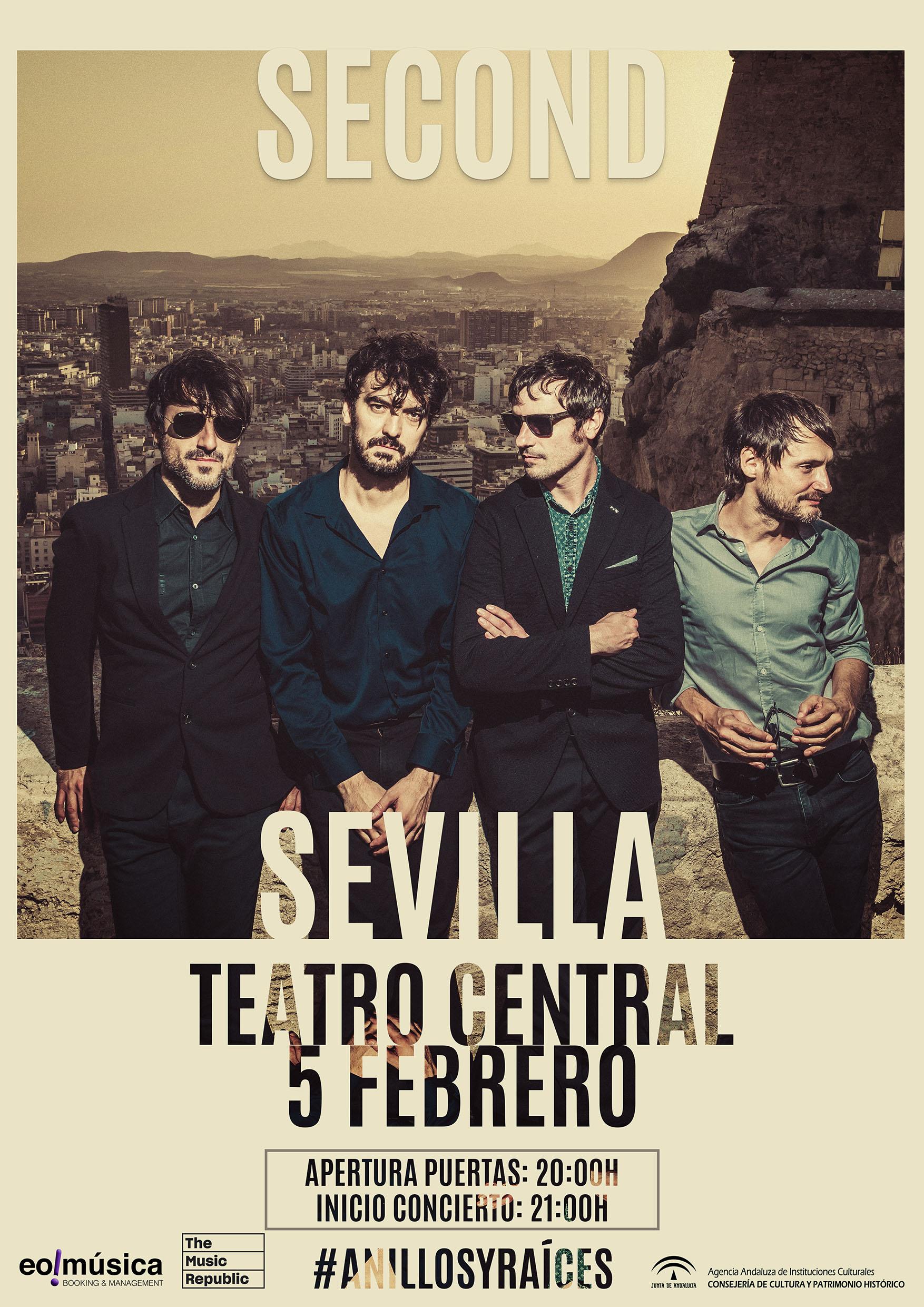 Second llega en febrero en Sevilla con 'Anillos y Raíces'