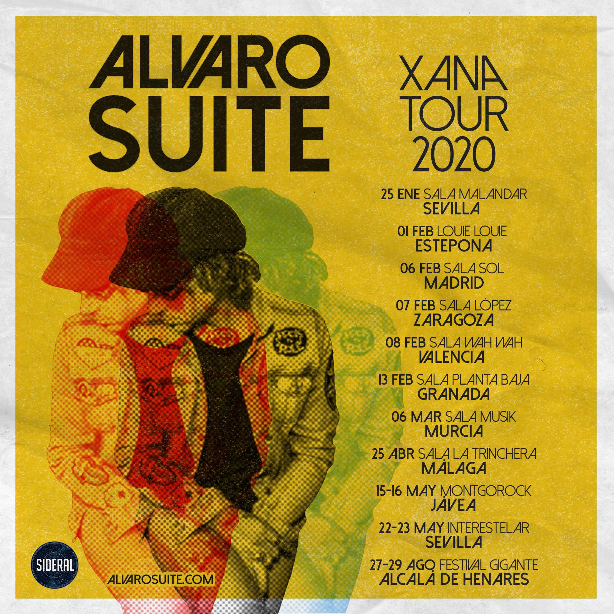 Alvaro Suite publica 'La Xana', su primer disco en solitario