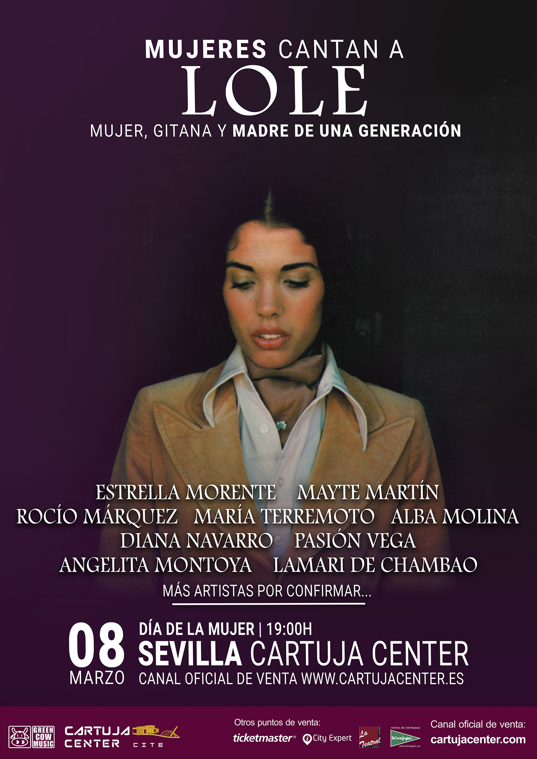 Cartuja Center acoge el homenaje a Lole Montoya, 'Mujeres cantan a Lole'