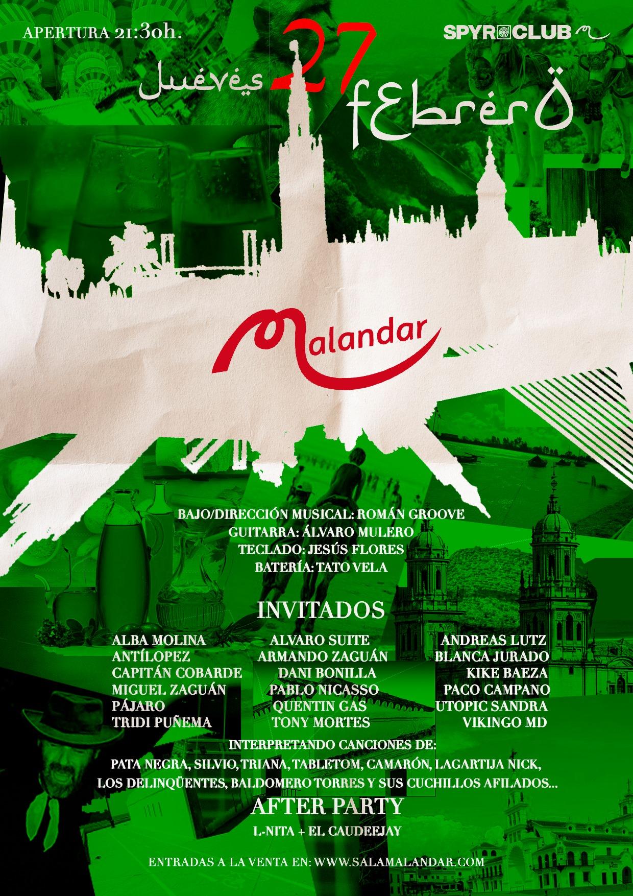 Noche de Encuentro Andaluz, cita musical en las vísperas del Día de Andalucía