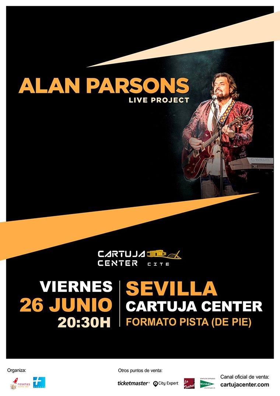 Alan Parsons llega a España con su Live Project 2020