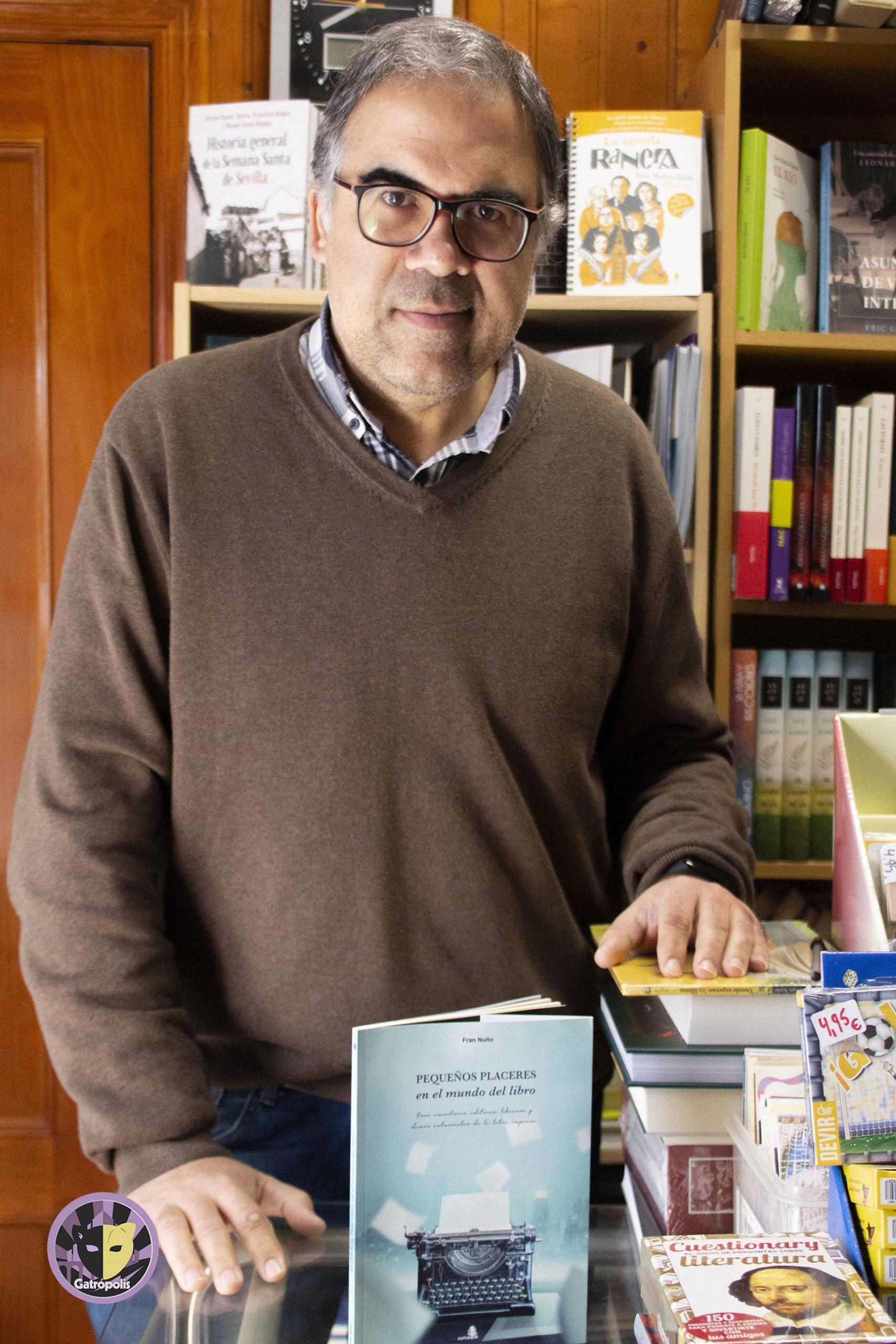 """Fran Nuño: """"Para mí el mundo del libro es un modo de vida"""""""