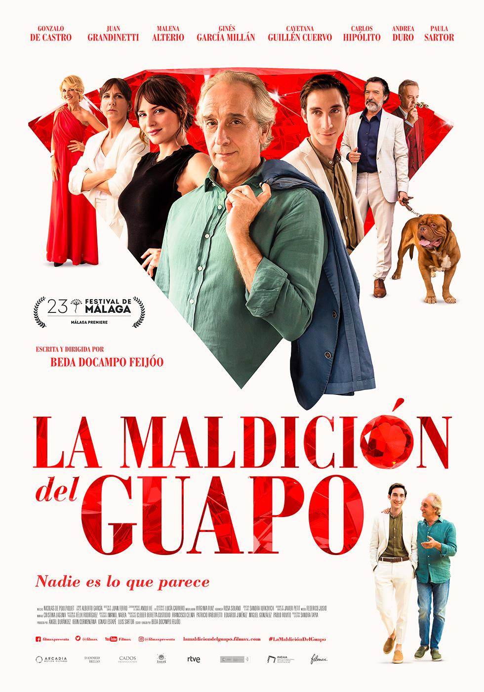 La maldición del guapo, estreno en el Festival de cine de Málaga