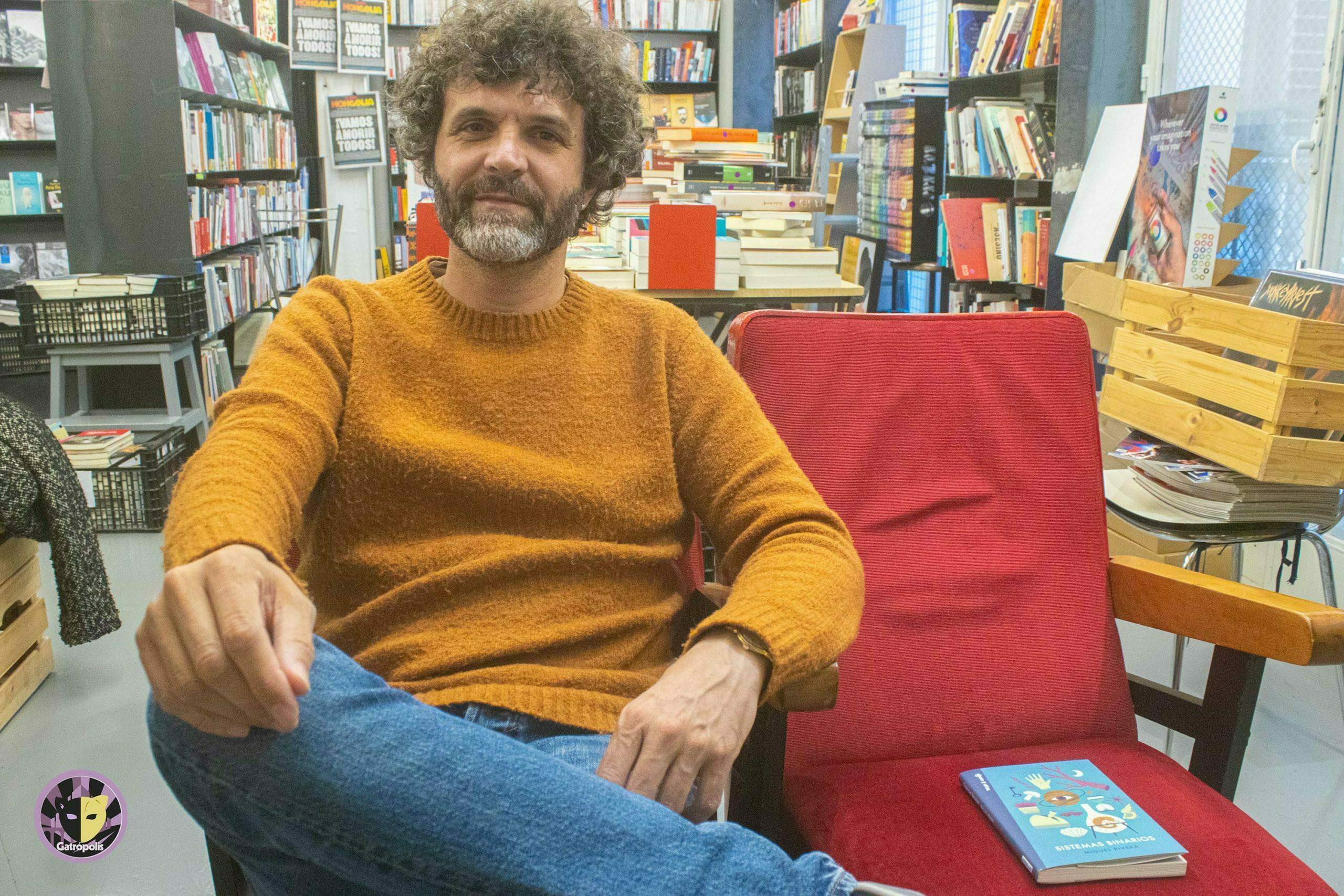 """Miguel Rivera: """"Con Sistemas Binarios me apetecía abrirme en canal ante la gente"""""""