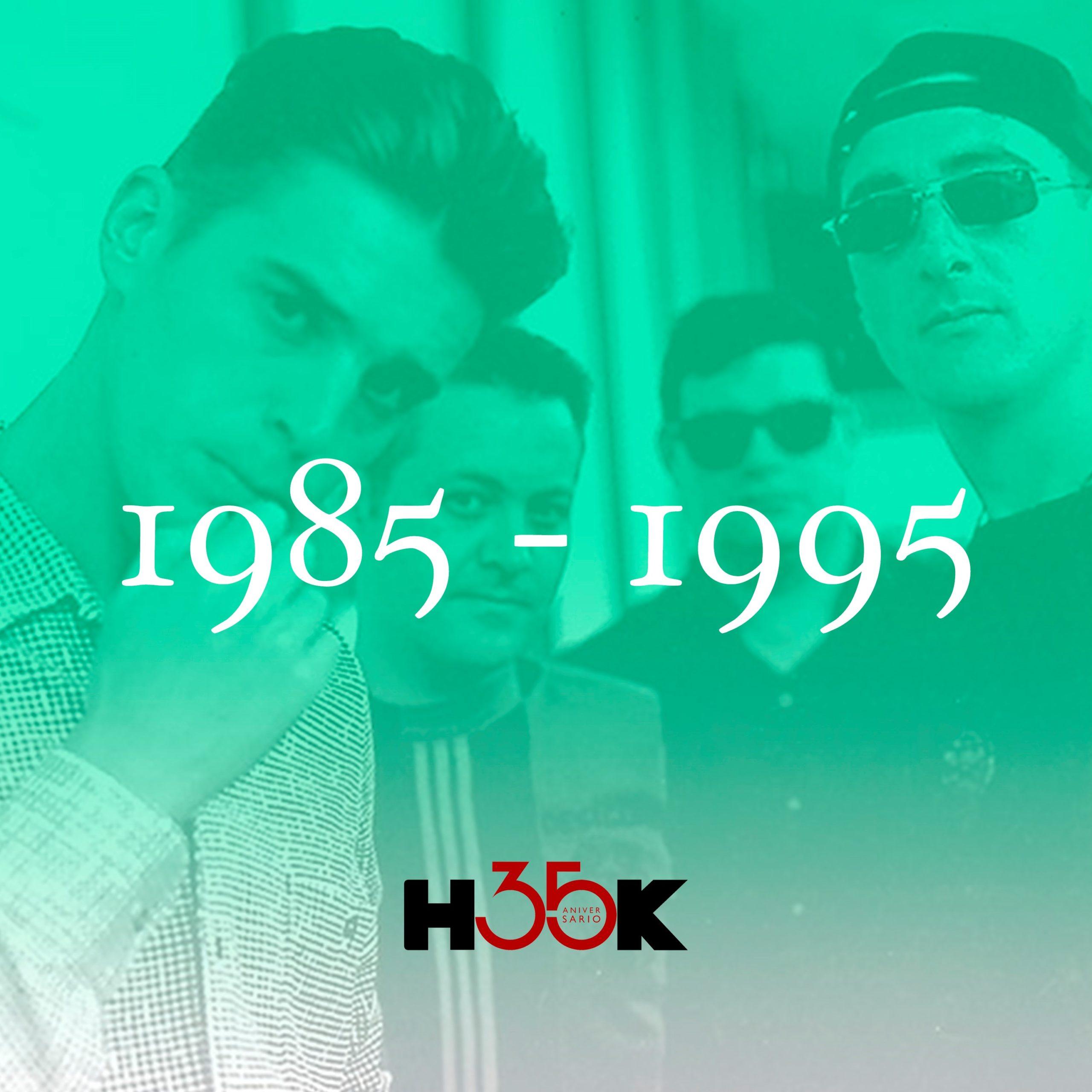 Hook Management lanza una primera playlist recopilatoria por su 35 aniversario
