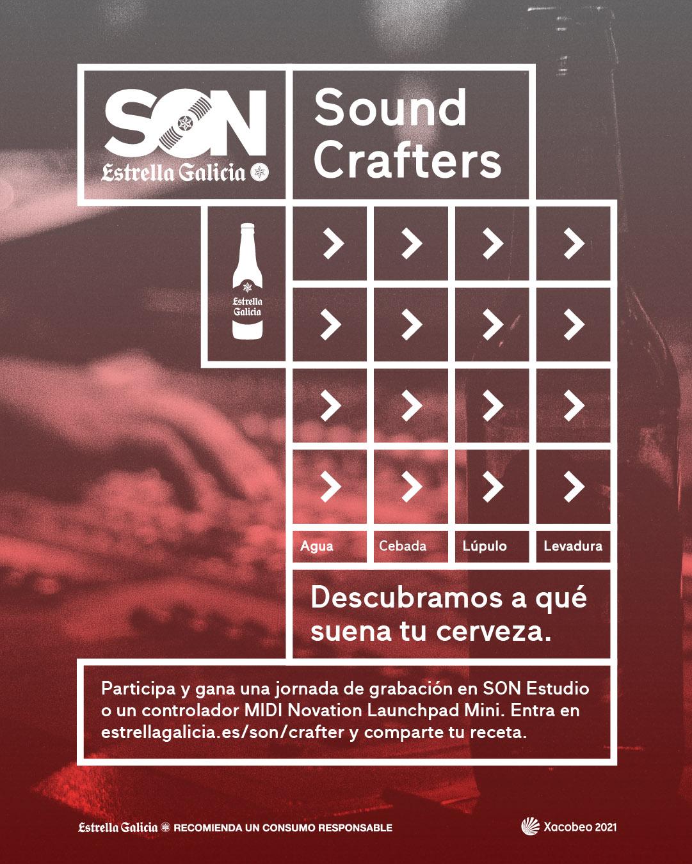 SON Estrella Galicia Sound Crafters propone la creación musical desde recetas cerveceras