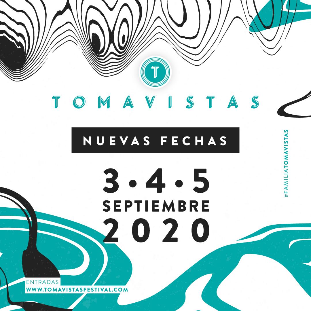 Tomavistas 2020 fija su celebración para los días 3, 4 y 5 de septiembre