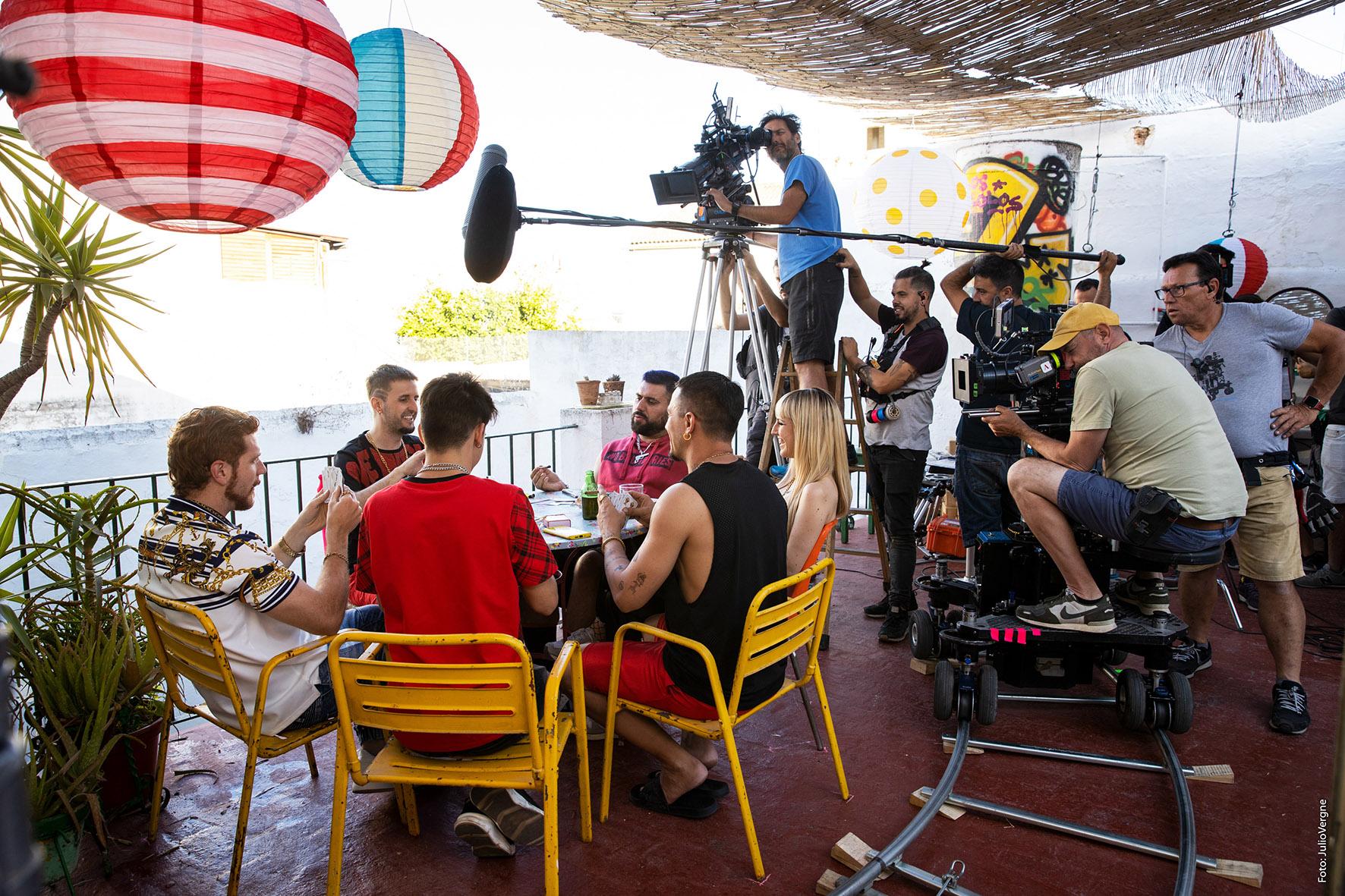 Se reactivan los rodajes en Andalucía en condiciones seguras