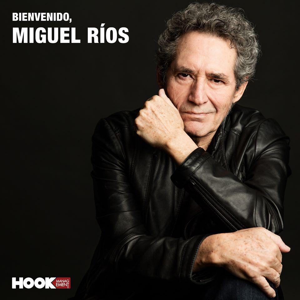 Miguel Ríos se incorpora al roster de artistas de Hook Management
