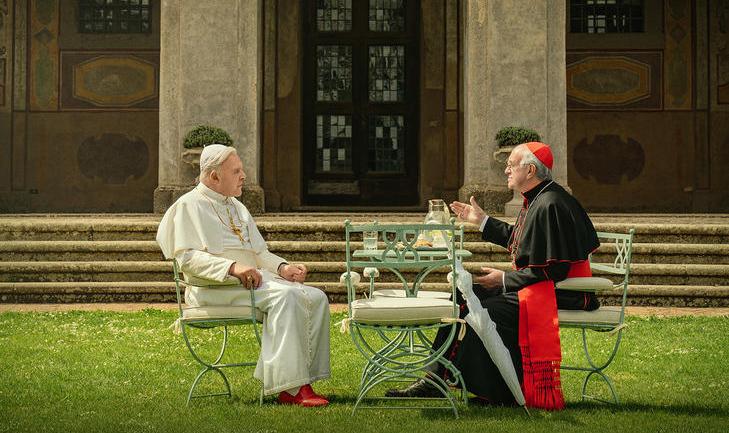 Los dos papas, conversaciones desde distintas visiones