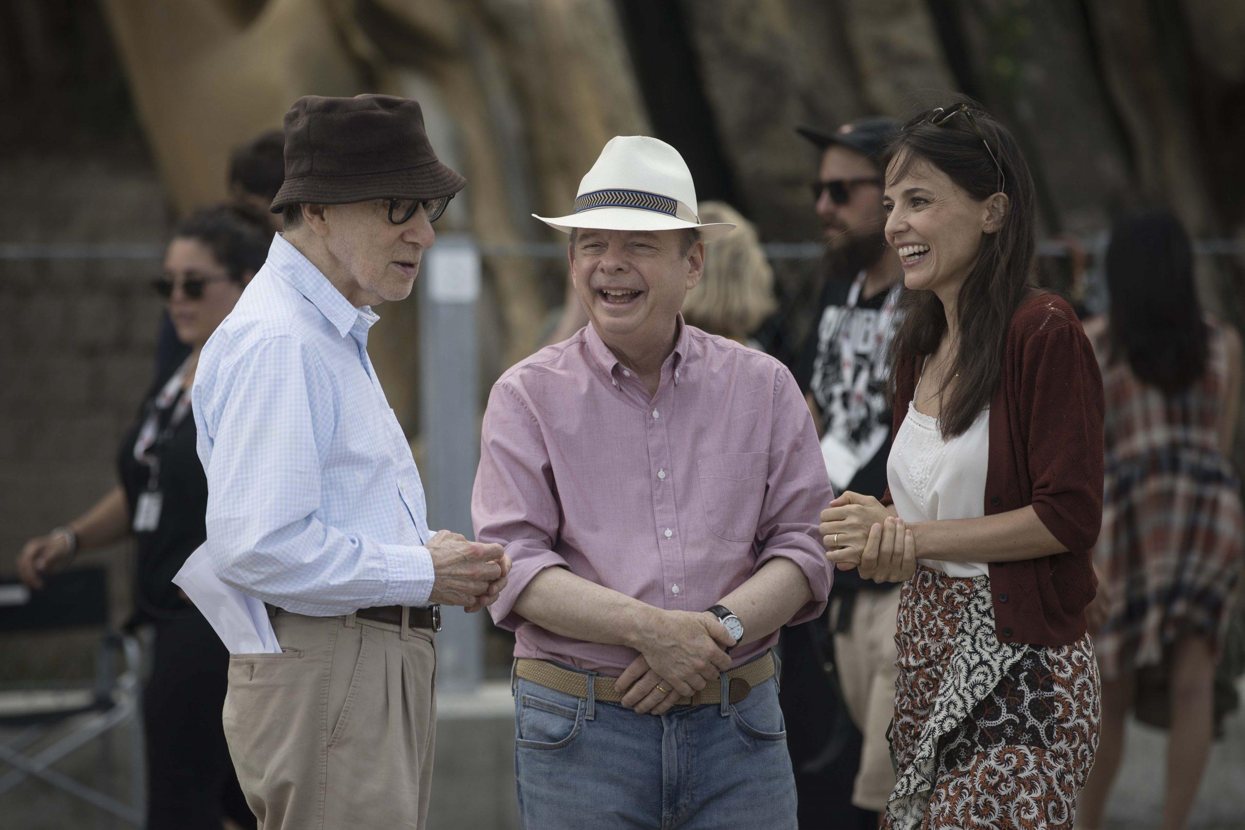 Woody Allen Primeras imágenes de Rifkin's Festival, escrita y dirigida por