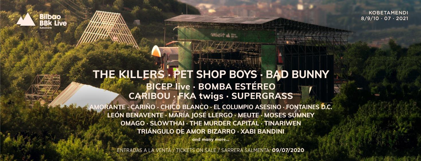 Bilbao BBK Live UDA: ni un verano sin sentir Kobetamendi