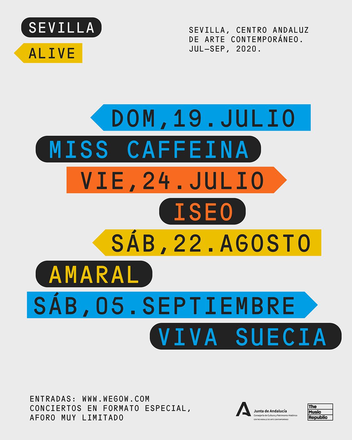 Nace el ciclo de conciertos Sevilla Alive