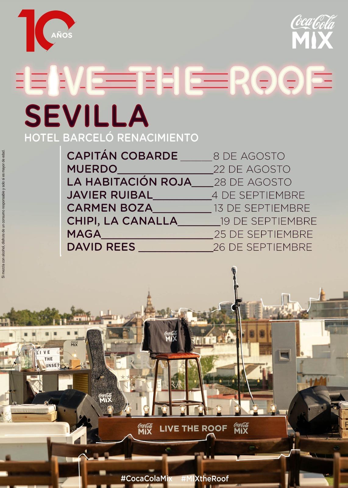 Regresa el ciclo de conciertos Live the Roof