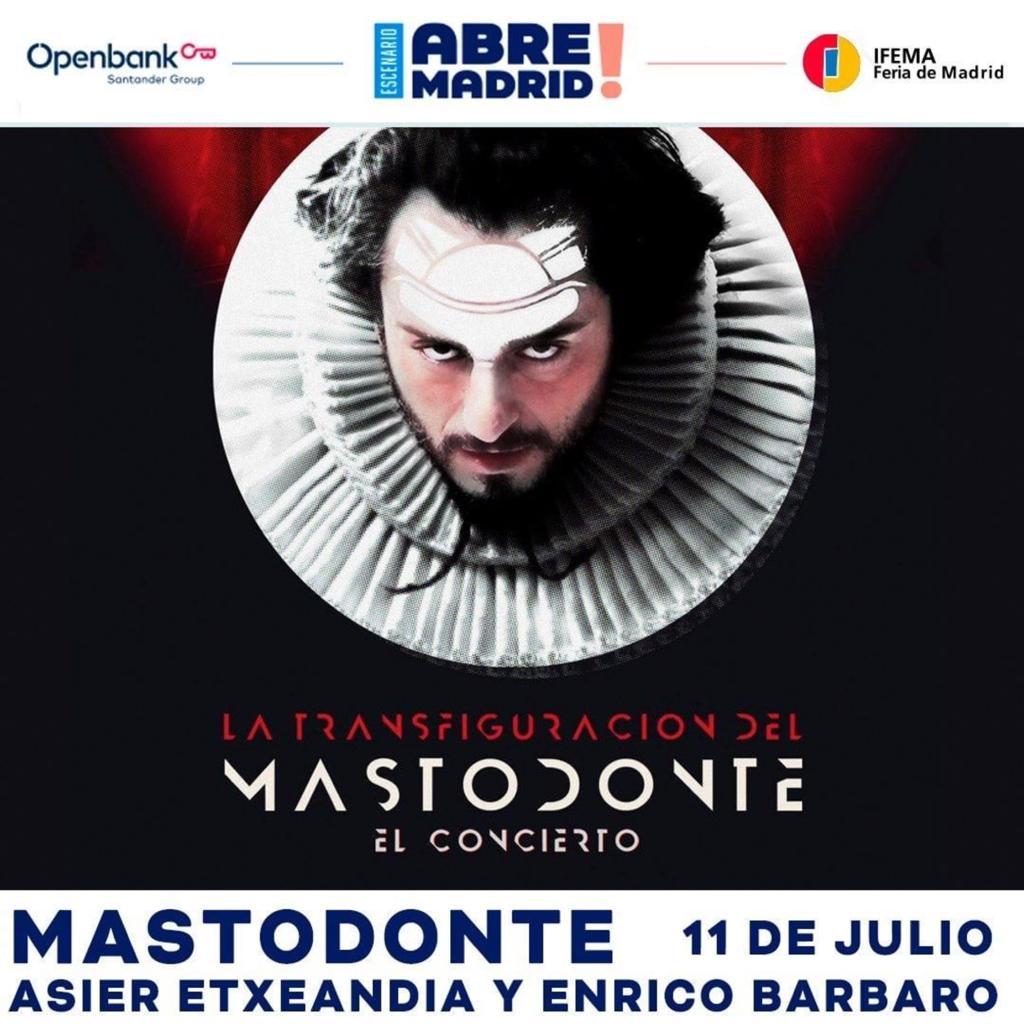 Mastodonte vuelve a los escenarios el 11 de julio