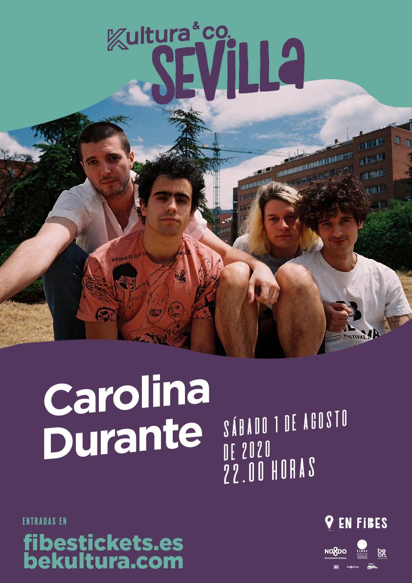 Carolina Durante aterriza en Sevilla gracias a Kultura&Co