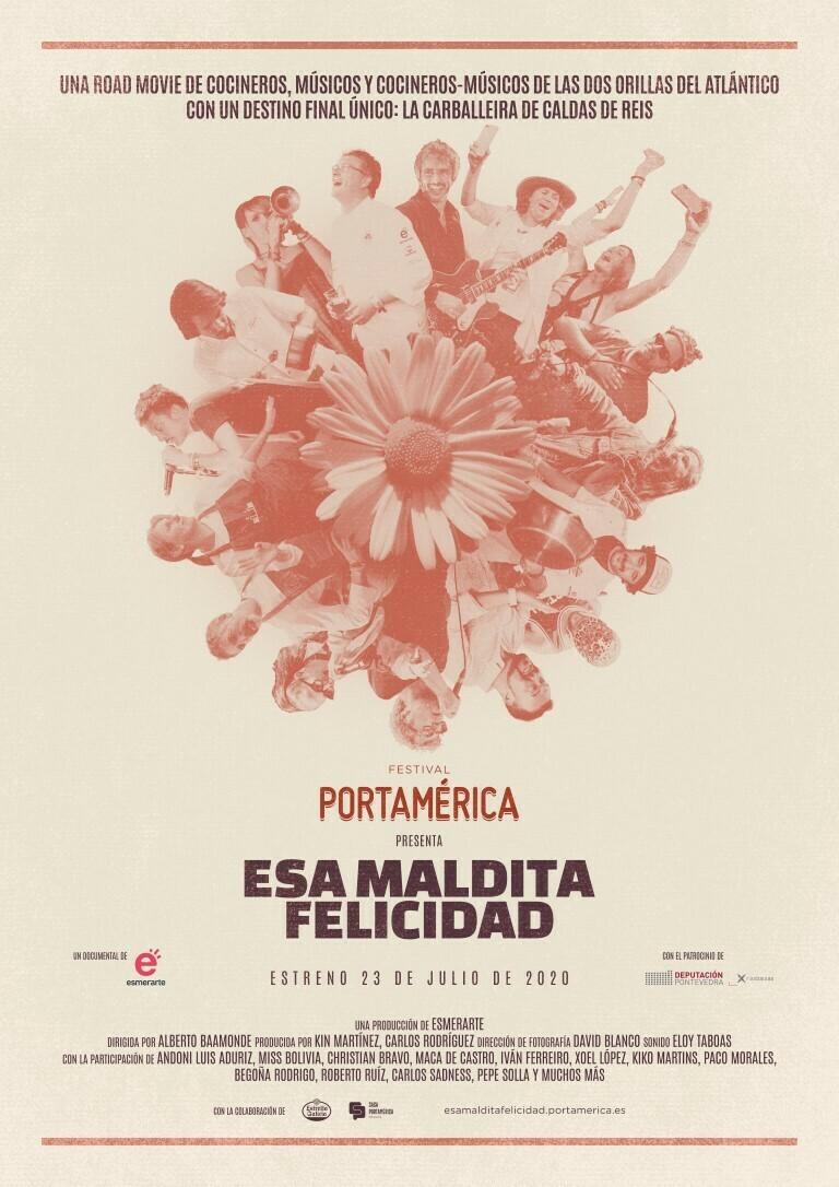 Esa maldita felicidad, una road movie sobre el Festival PortAmérica